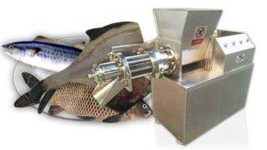 Automatic Fish Meat and Bone Separating Machine