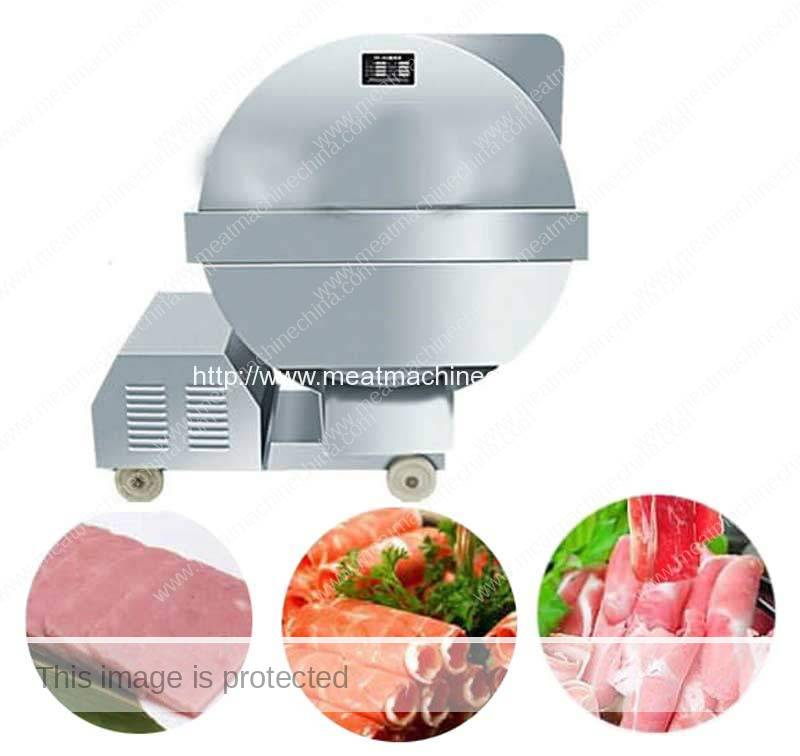 Automatic-Frozen-Meat-Slicing-Machine
