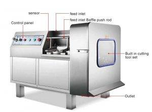 Automatic-Meat-Dicer-Machine-Structure