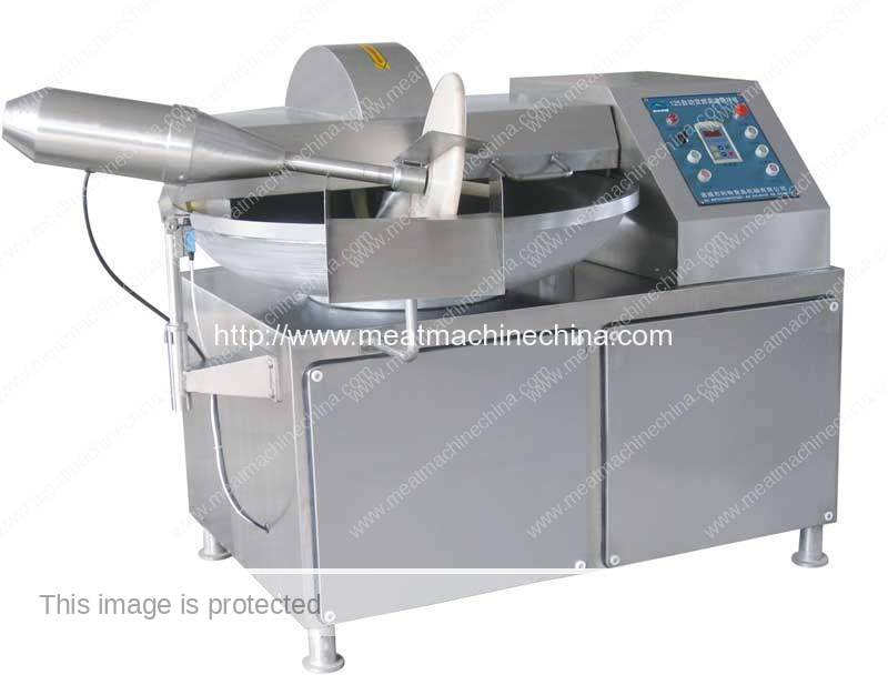 Bowl Type Meat Cutter Machine