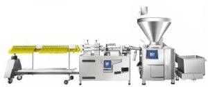 Automatic Sausage Vacuum Filing and Clipping Line