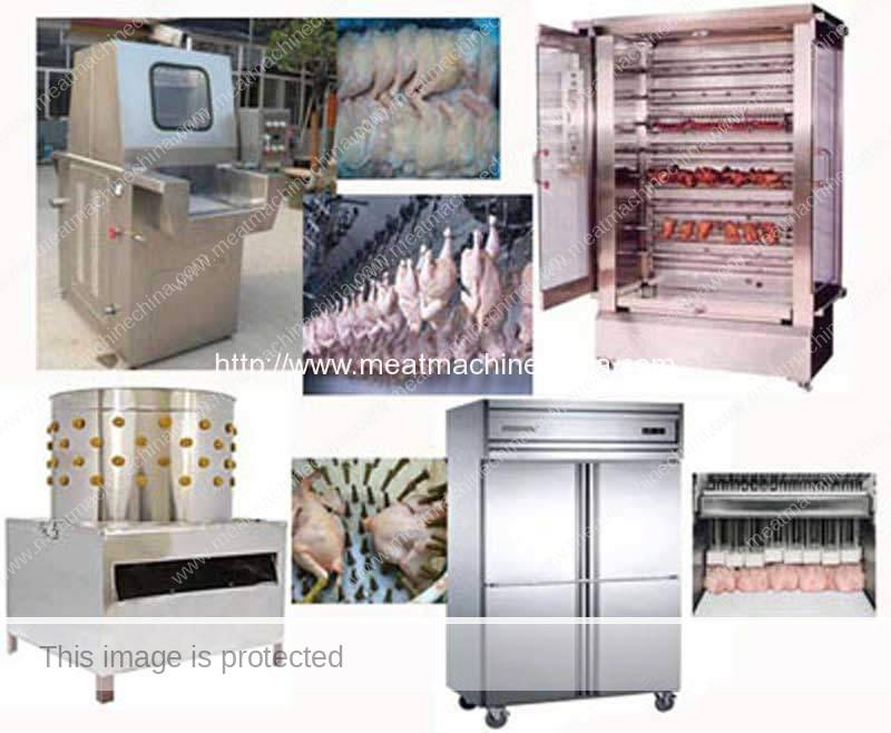 Chicken-Primary-Processing-Related-Machine