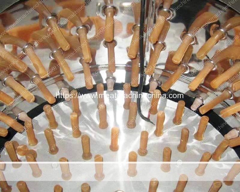 Batch-Type-Chicken-Feet-Peeling-Machine-Structure