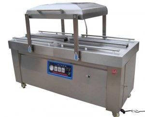Double-Chamber-Meat-Vacuum-Packing-Machine