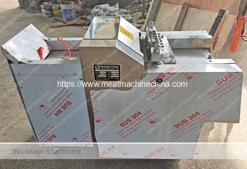 Automatic Chicken Meat Cutting Machine Delivery for France Customer