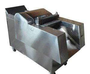Automatic-Frozen-Chicken-Meat-Cube-Cutting-Machine