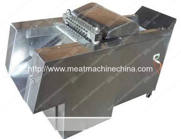 Automatic-Frozen-Meat-Cube-Cutting-Machine