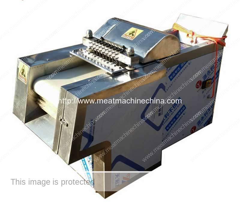 Automatic-Chicken-Poultry-Meat-Cutting-Machine