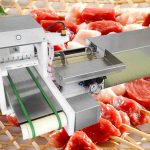 Automatic BBQ Meat Skewer Machine